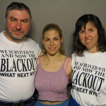 Scott Diamond, Linda Diamond, and Jamie Diamond