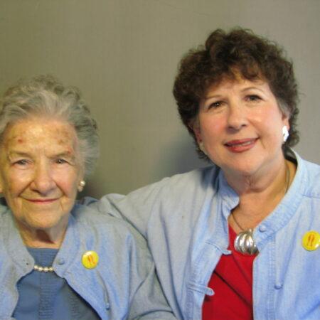 Louise (Lucy) Robinson McReynolds and Ann McReynolds