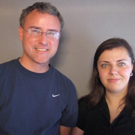 Sanela Mesic and Patrick McCarthy