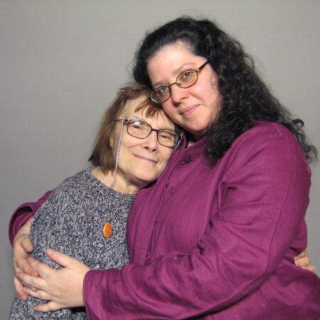 Joyce West and Colleen Davis