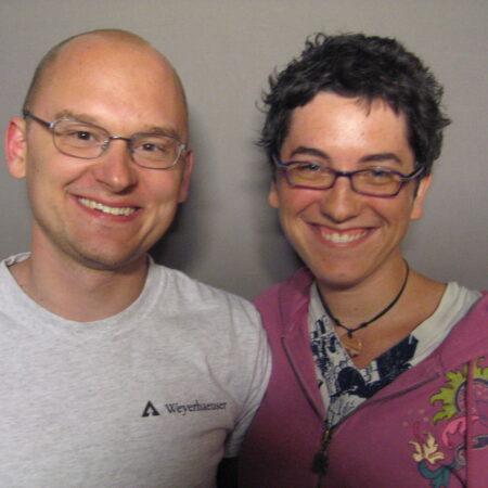 Michael Andersen and Amanda Davis