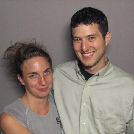 Alex Levy and Sara Walsh
