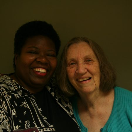 Gloria Harris and Bernice Baker