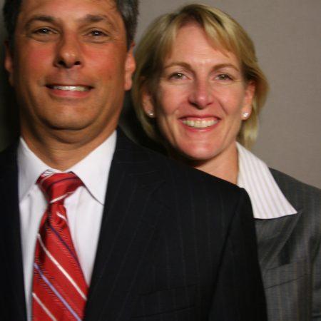 Valerie Schmalzried and Greg Diprato