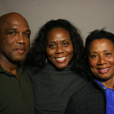 Horace G. Nelson, Carol Nelson, and Tricia Nelson