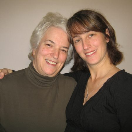 """Mary """"Wisher"""" Barthelman  and Meg Reuthe"""