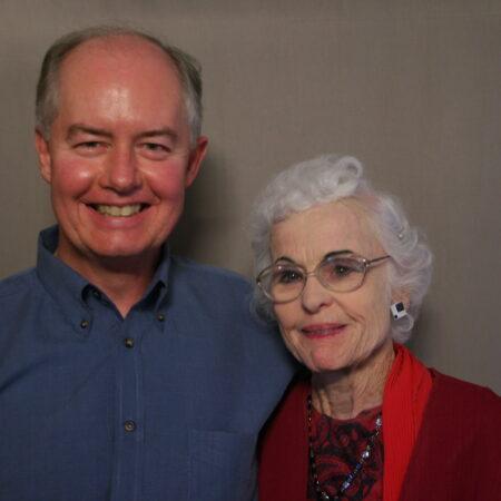 "Vivian Burton and George ""G.B."" Crawford"