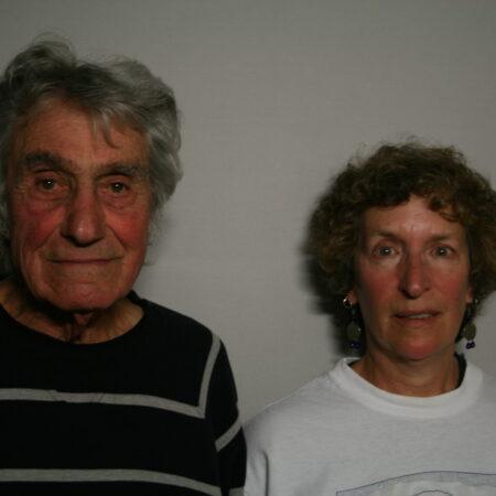Peter Garabedian and Samuela Evans