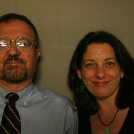Alan  Pally and Christine Karatnytsky