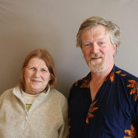 Lew  Tobin and Sandra Medearis