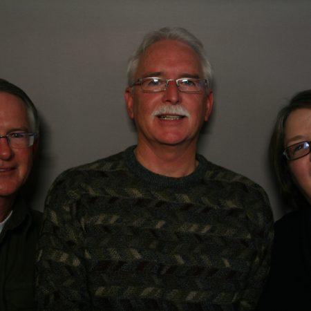 Barbara Sinnett, Dan Sinnett, and Ralph Sinnett