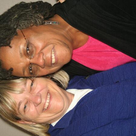 Yvette Benjamin and Linda Degutis