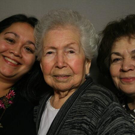 Amelia Vara, Mary  Hernandez, and Dawn Leal