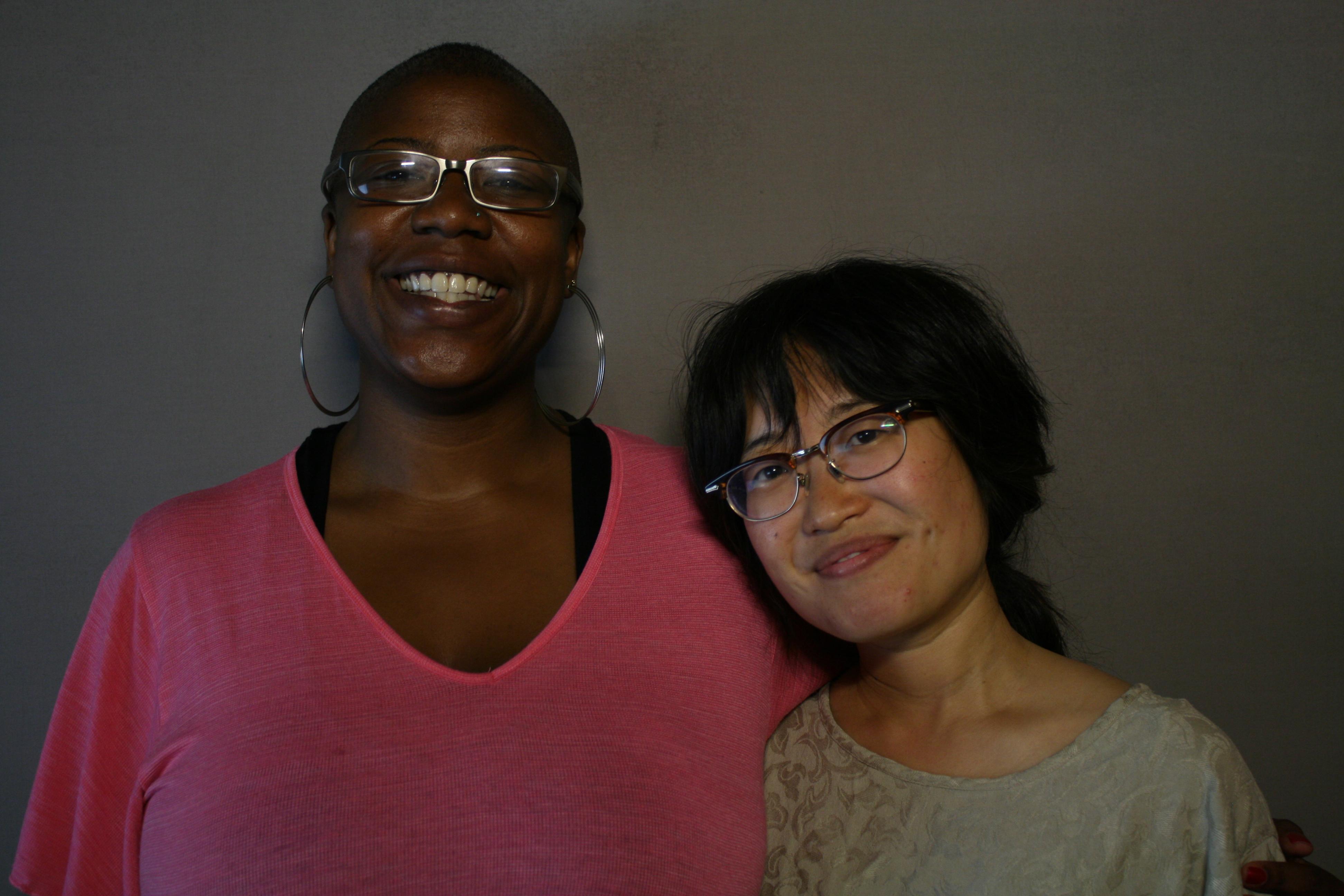 Aiesha Turman and Susan Lee