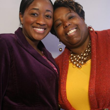 Sunnetta Slaughter and Tiffany Westry