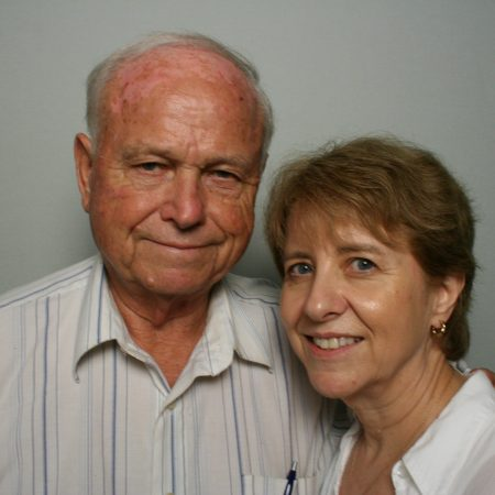 Clyde Waldron and Anne Riggsby