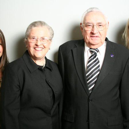 Jean Hughey, William Hughey, Tara Hughey, and Amanda Hughey
