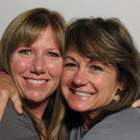 Camari Olson and Laura Bancroft