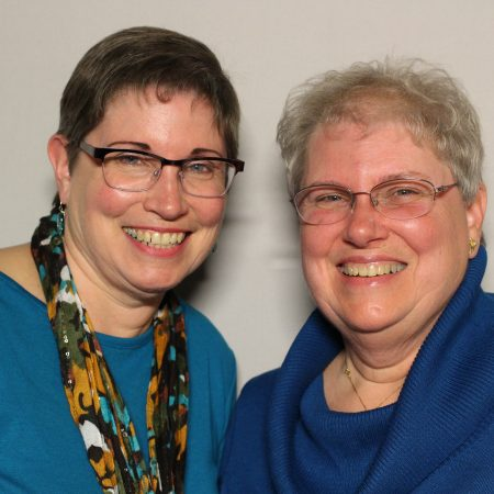 Janice Miller and Barbara Linek