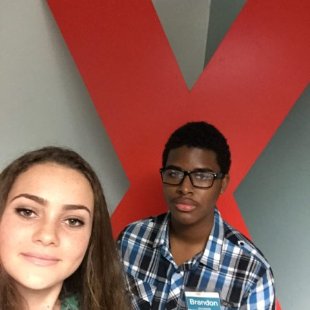 Brandon and Angelica TEDXUCCI