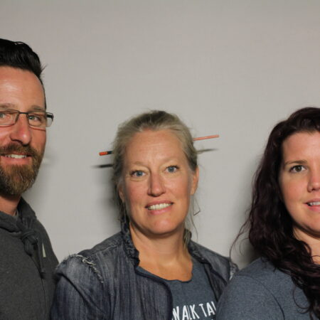 Barie Wolf-Bowen, Andrew Law, and Traci Ruble
