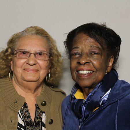 Lillian Hebert and Verna Bynum
