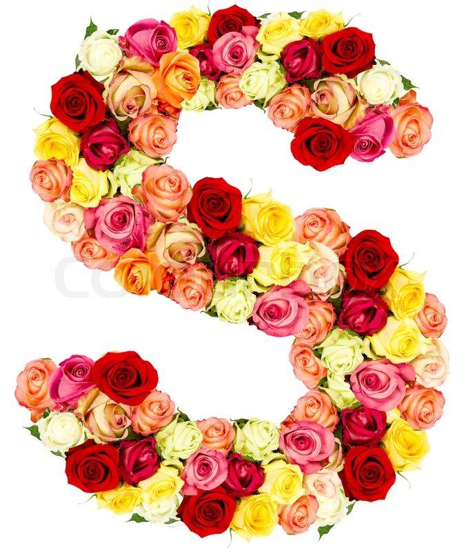 alphabets free alphabet rose alphabet az clipart