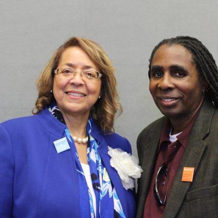 Patricia Mitchell and Richard Johnson