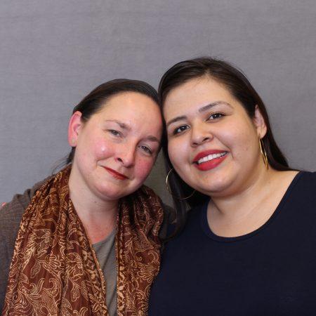 Miriam Uribe Martínez and Stacey Kohut