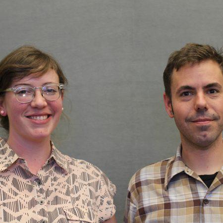 Katie Hoffman and Matthew McKenzie