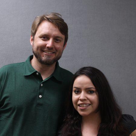 Virginia Gonzalez and John Stempien