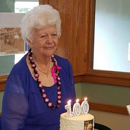 Eleanor Hertz, 100 years old of Bremerton, WA