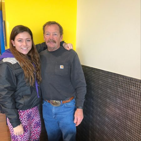Taryn Sanborn learned what life was like for Douglas Glenn in the military, and during his childhood.