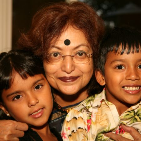 Rohan Ghosh and his grandma Dr. Deepali Dutta talk about the culture and religion in India.