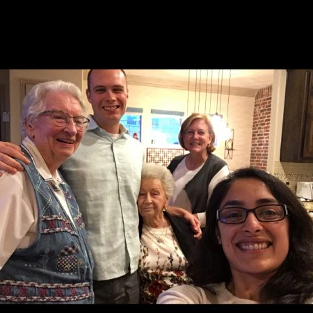 Nana and Granny Thanksgiving 2017