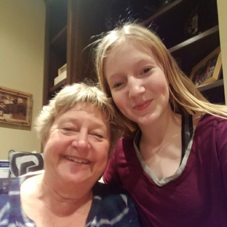 Callie Lininger with her grandma Patty Parrish talk about growing up and and what her childhood was like