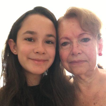 Andrea y Mamá Rosa