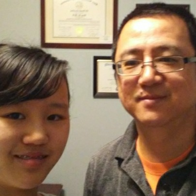 Bing Yi and his daughter, Emily Yi, talk about growing up in Dalian, China.