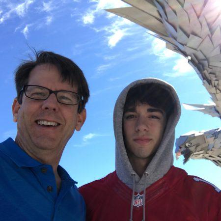 Hollis Macoy and his dad Coy Macoy talking about growing up on Vestavia Hills, Alabama.
