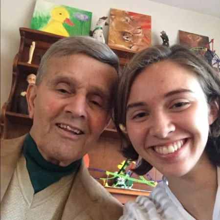 Pierre Joseph and his granddaughter Paige Looney speak about his immigration from Lebanon.