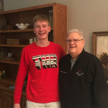 Seth and Grandpa for English project