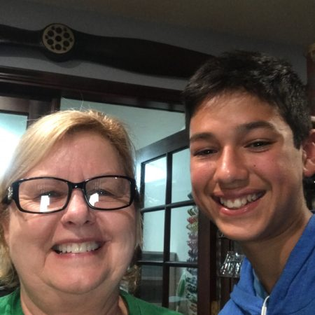 Jacob Vasquez interviewed his grandmother, Angie Nelson, on December 9th, 2017. She described her childhood in Geiorga.