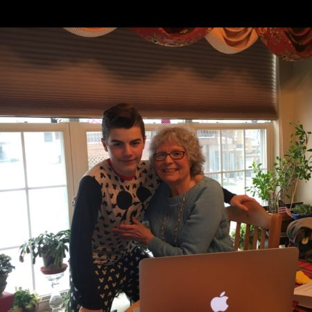 Alexander Kramer Interviews his Grandmother, Arlene Kramer.