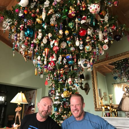 Laguna S Giant Upside Down Christmas Tree Aka What Chuck And Jud