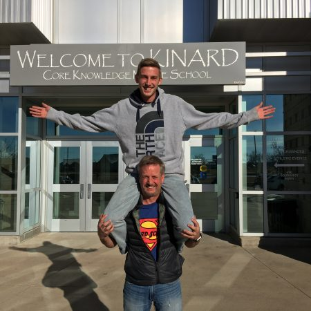 Brad and Nate Blank: Father and Son, Teacher and Student