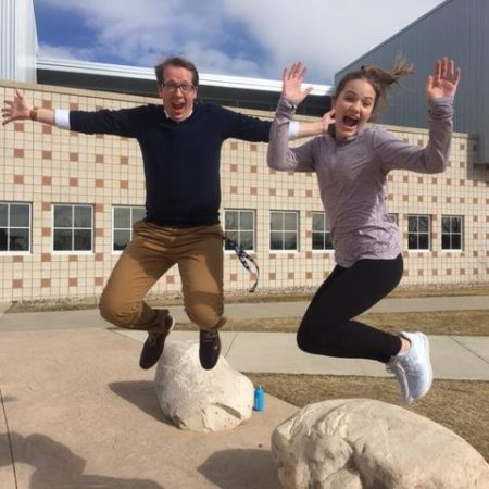 Ally Herring and Andy Graham: Middle School, Beyonce and Determination