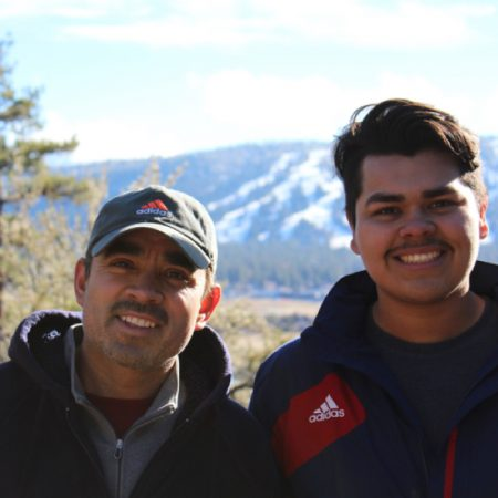 Father's journey to America