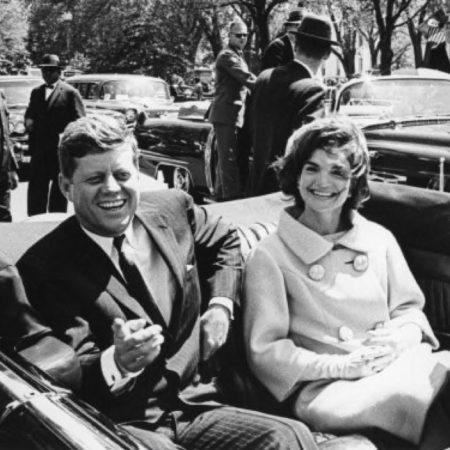 JFK assassination with poppy