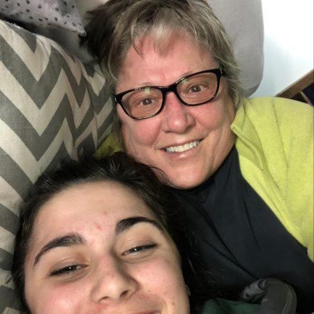 Maddie and Grandma Audrey