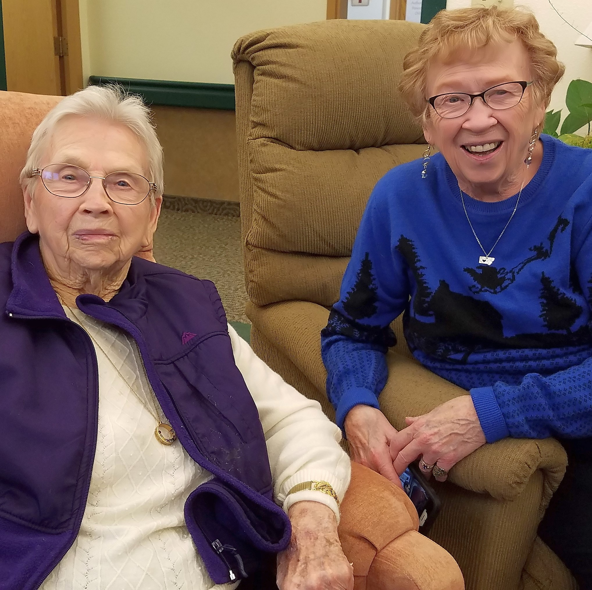 Bernice Herman, 103 years old, shares homesteading stories and a very memorable fishing story